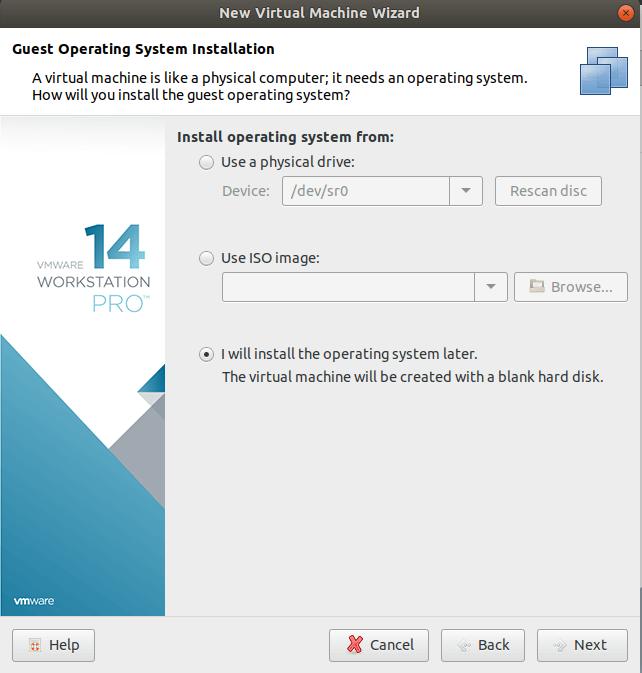 installing VMware